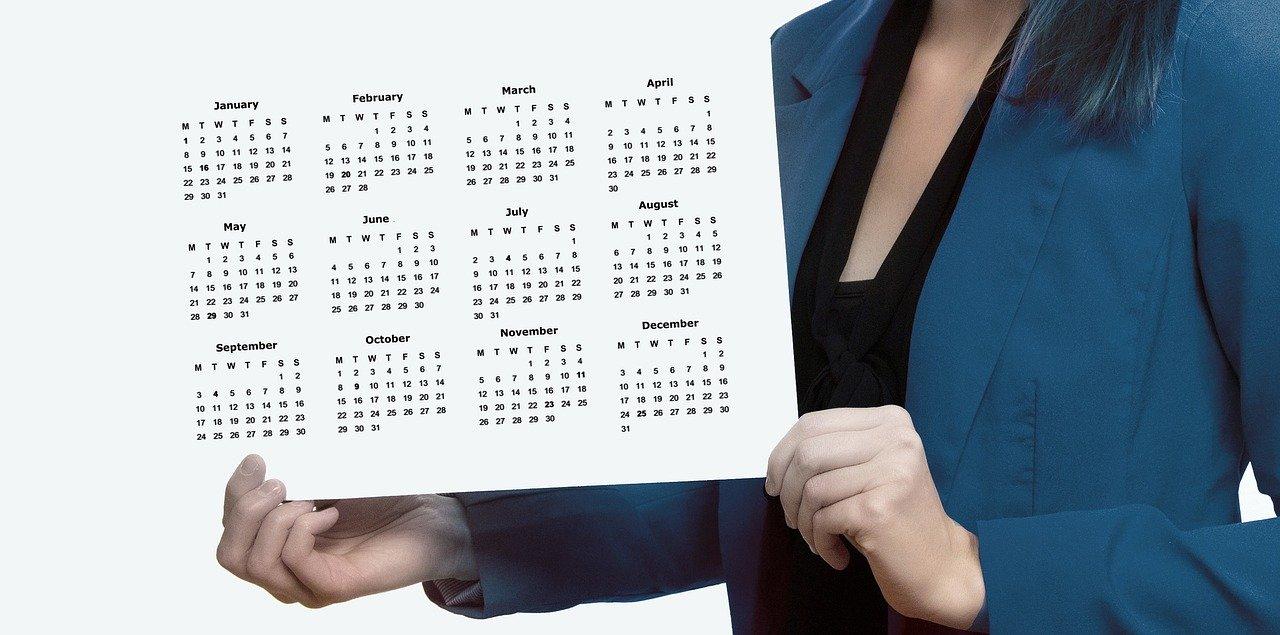 I mesi dell'anno in Inglese